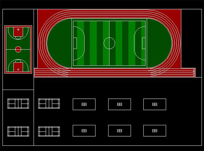 体育场设计施工