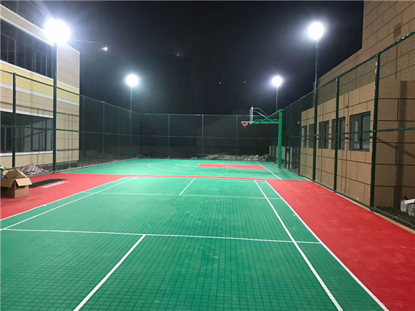 事业单位篮球场